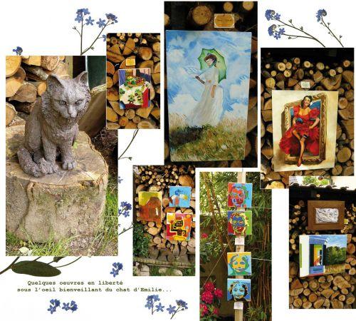 photos,portes ouvertes,atelier tintoretto,portes ouvertes des ateliers d'artistes,brunoy,session 2012,oeuvres tintorinesques,emile gavet,peintures,sculptures,céramiques,boutons,dessins,animaux